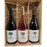 Bodegas Otazu Chardonnay Tempranillo Rose en Premium Cuvee in kist